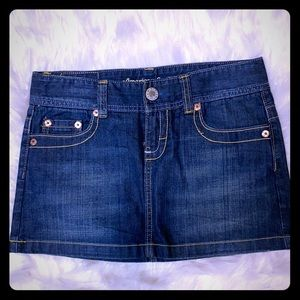 American Eagle Denim Mini Size 4